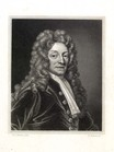 print; engraving - Sir Christopher Wren
